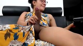 Incredible porn video tranny Tranny unbelievable only here