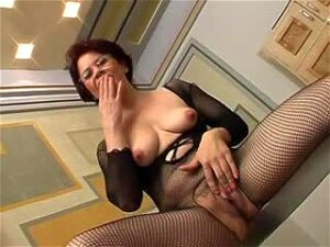 Milf In Body Stocking Enjoys Cock In All Her Holes Porn