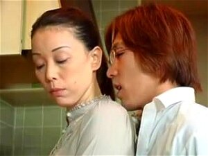 Mother In Law Mari Aoi Fucked By NOT Her Son, Mother In Law Gets Seduced In Kitchen Porn