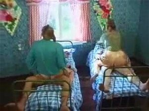 Two Men Fucked By Village Wives Porn