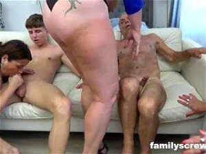 Screwed Up Grandpa And Grandson Sunday Therapy Porn