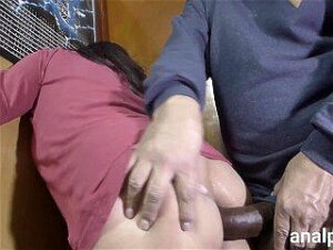 Huge Cock Fucks My Ass And Makes Me Scream With Pleasure, It Hurts And I Love It Porn
