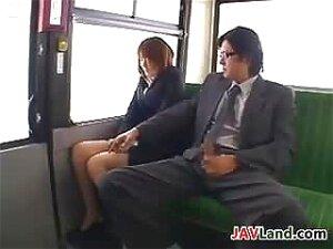 Japanese Girl Sucking Cock In A Bus Porn
