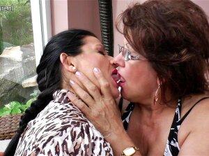 Three Mature Lesbians Have Some Serious Fun - MatureNL Porn