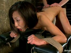 Slender Tia Ling Gets Tied Up And Fucked Painfully Porn
