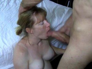 Hot Wife Sucks Bull While Hubby Films Porn