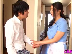 Hot Japanese Mature Gets Her Juicy Tits Sucked Passionately Porn