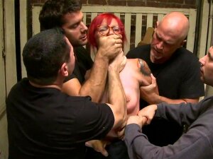 Rough Gang Bang Along Slutty Phoenix Askani Porn
