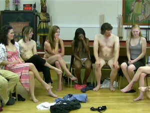 Strip Game For A Group Of Friends Porn