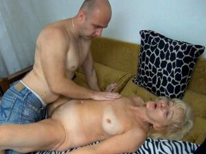 Curly-haired Blonde Is Being Fucked So Nice Porn