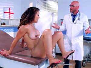 Brunette Humped By Doctor Instead Of Traditional Treatment Porn