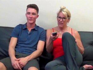 Aged Stepmom Seduces And Screws Stepson Porn