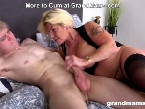Granny's Acting Like A Slut Again! Porn