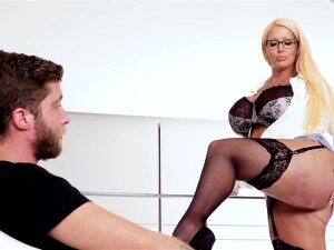 Takes Cum On Her Massive Tits After Passionate Fucking - Alura Jenson And Dylan Snow Porn