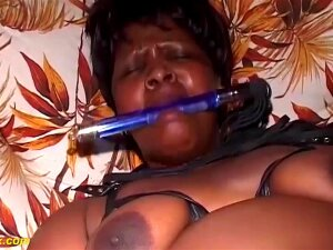 Extrme Fat Hairy Bush African Mom Enjoys Her First Rough Bdsm Fetish Porn Lesson At Home With Her Stepson Porn