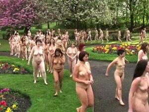 Nudist British Women In Group Porn
