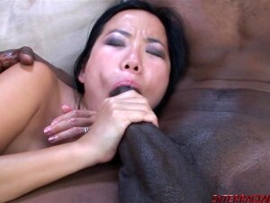 Pretty Nya Yu Gets Her Tiny Pussy Double Stuffed With Black Meat Porn