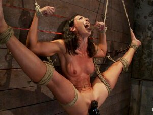 Welcome Back The Always Beautiful Wenona To Hang Out On The Hogtied Set. Today We Put This Former Gymnast/Fitness Model's Flexibility And Toughness To The Test. Porn