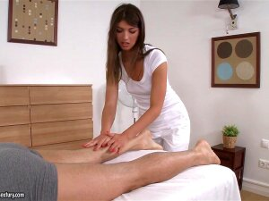 21Sextury Video:  Massage In Action, Having A Masseuse Is Default For A Soccer Star Like Toby. But Getting Extra Service From Her... Well, It Doesn't Happen Too Frequently. Still, If You Know Susan Ayu, You Won't Be Surprised To Hear How Easily She Jumped Onto The Rock Hard Cock To Give Another Type Of Relaxation. Porn