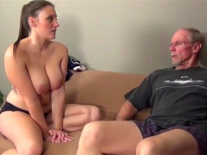 Killer Teenage With Yam-Sized Saggy Funbags Homemade Fuck-A-Thon. Huge-Titted Teenage Gets Smashed By Senior 70yo Guy Porn
