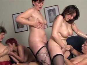 These Mature Women Love To Party With A Big Titted Teen Porn
