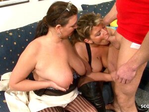 German Mature Join In Threesome With MILF Wife And Husband Porn