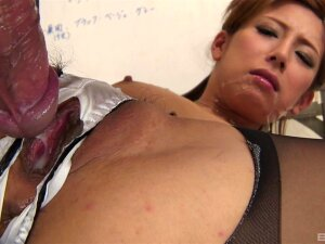 Japanese Office Porn With The Slim Secretary Acting Hot Porn