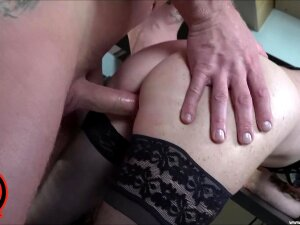 Mature Suits Her Fat Cunt With The Nephew's Merciless Dick Porn
