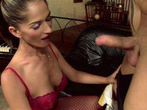 Hot Brunette Tight Asshole Makes Him Cum Like A Fountain Porn