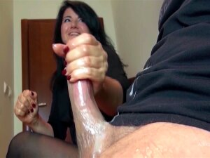 He Pulled Out His Giant Cock In The Waiting Room Porn