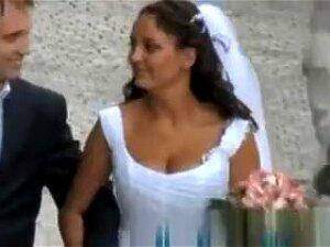 Nice Bride On A Walk - Down Blouse. Porn