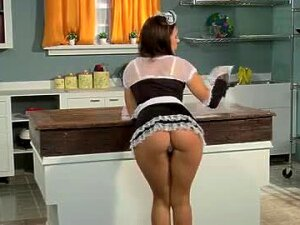 Maid Cleans The House And Fucks Her Boss Porn