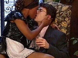 Hot Ebony Teen Demands A Rock Hard Doggy Style Violation. Ebony Bitch Wants To Be A Porn Star In The US So She Is Starting Her Career By Making Love With Her Boss In A Hard Fashion Using The Good Old Doggy Style Intrusion At ExploitedAFRICANImmigrants Porn