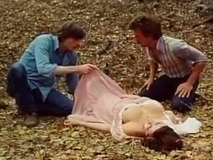 Desiree Cousteau, Joey Silvera In Classic Porn Scene With Threesome In The Forest Porn