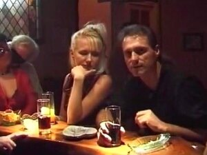 French Fuckfest Party At Swingers Club, Porn