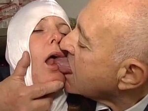 Naughty Nun Played With By Old Guy Porn