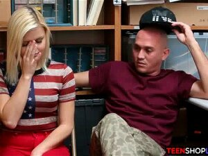Young Couple Caught Stealing Get Two Options From Security One Is She Fucks Him The Other Is He Will Call The Cops On Them Which Is Not Really An Option For The Boyfriend Because He Got Convicted Before Porn
