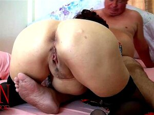 Vintage Lady Sucking Fat Guy's Dick Cock Sucking Blowjob Porn