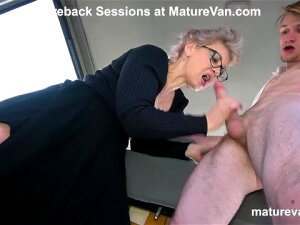 Horny Granny Can't Wait To Cum Porn