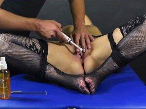 Clit Brush Edging Game-Post Orgasm Torture Porn