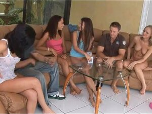 Funny Strip Poker At Teen Sex Party Porn