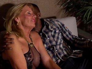 GILF Prestley St Claire Gets Rome's Big Black Cock Porn