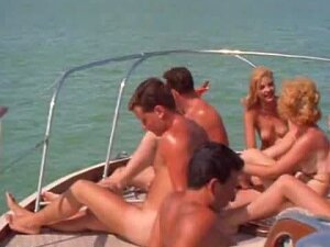 Naked Nudist Party Boat Ride Porn