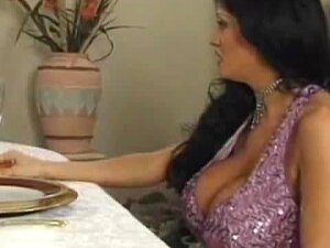 A Lovely Housewife Gets Fucked On A Dinner Table Porn