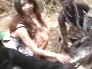 African Tribe Welcomes A Hot Asian! Porn