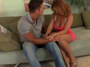 Top Mature Milf Redhead In Stockings Fucks Great Porn