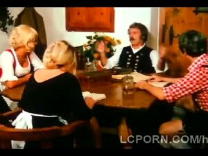 Farm Old Man Pleases Younger Blondie On His Dining Table. He Waits Till Nobody Is Around To Eat That Hot Babe On The Table. He Makes That Hottie Squeal With His Hefty Meatbone. Porn