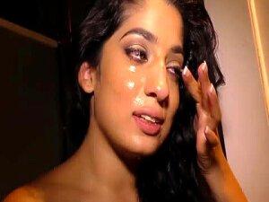 Pakistani Nadia Ali Having Fun With Big Black Cock In A Gloryhole Porn