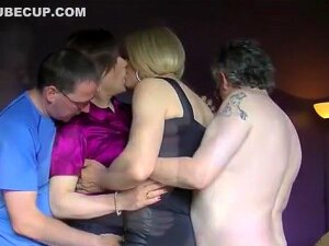Satin CD Playtime With Two Horny Guys Porn