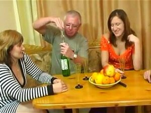 Young And Mature Russian Couples Fuck, One Young And One Mature Russian Couple Fuck Together Pretty Hard In This Young Vs. Old Group Sex Video. Porn